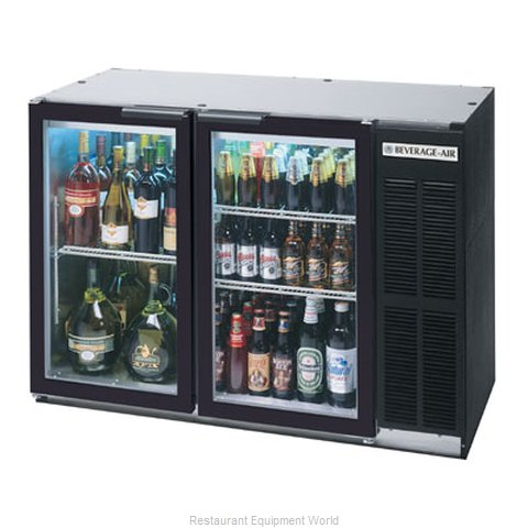 Beverage Air BB48GY-1-B Backbar Cabinet Refrigerated