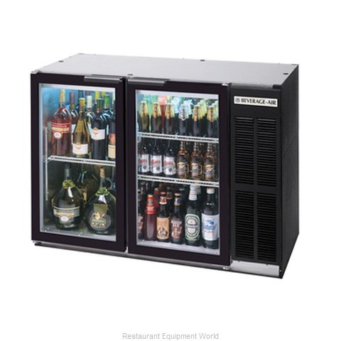 Beverage Air BB48GYF-1-B-PT Backbar Cabinet Refrigerated (Magnified)