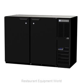 Beverage Air BB48HC-1-F-B Back Bar Cabinet, Refrigerated