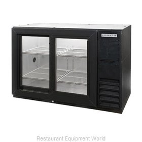 Beverage Air BB48HC-1-F-GS-B-27 Back Bar Cabinet, Refrigerated