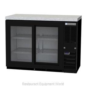 Beverage Air BB48HC-1-F-GS-B Back Bar Cabinet, Refrigerated