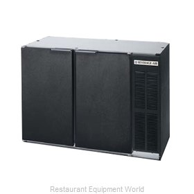 Beverage Air BB48HC-1-F-S-27 Back Bar Cabinet, Refrigerated