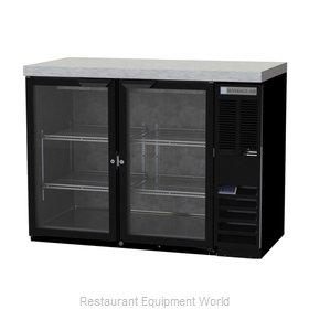 Beverage Air BB48HC-1-FG-B-27 Back Bar Cabinet, Refrigerated