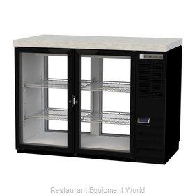 Beverage Air BB48HC-1-FG-PT-B-27 Back Bar Cabinet, Refrigerated