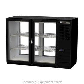 Beverage Air BB48HC-1-FG-PT-B Back Bar Cabinet, Refrigerated