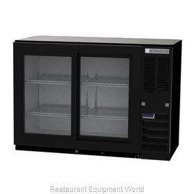 Beverage Air BB48HC-1-GS-B Back Bar Cabinet, Refrigerated
