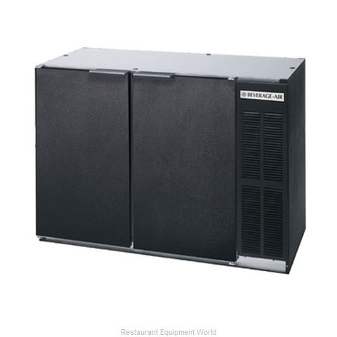 Beverage Air BB48R-1-S Backbar Cabinet Refrigerated