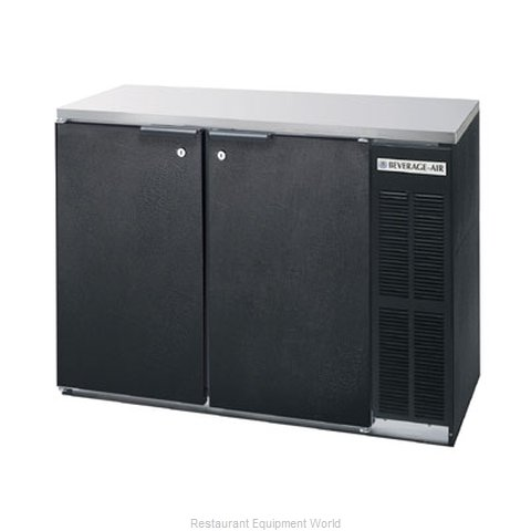 Beverage Air BB48Y-1-B-27 Backbar Cabinet Refrigerated