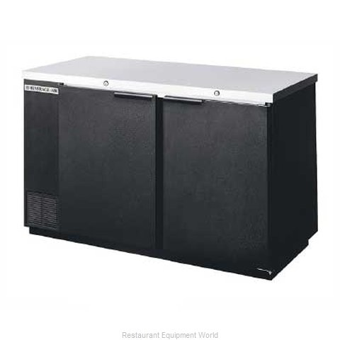 Beverage Air BB58-1-B Backbar Cabinet Refrigerated (Magnified)