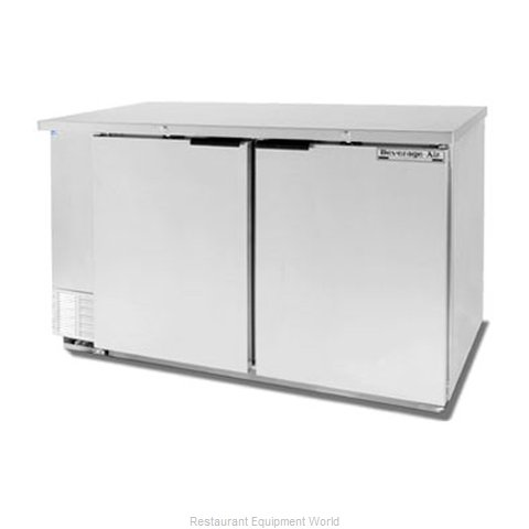 Beverage Air BB58-1-S Backbar Cabinet Refrigerated