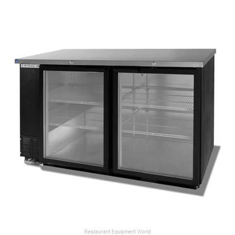 Beverage Air BB58G-1-B Backbar Cabinet Refrigerated