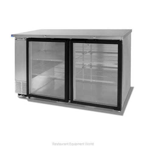 Beverage Air BB58G-1-S Backbar Cabinet Refrigerated