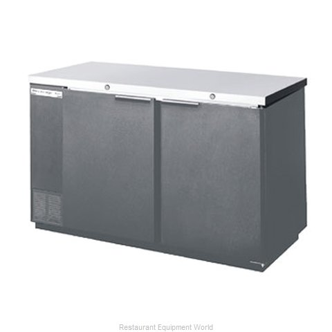 Beverage Air BB68-1-B Backbar Cabinet Refrigerated (Magnified)