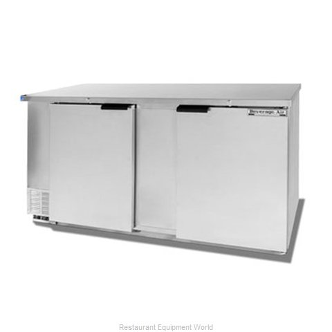 Beverage Air BB68-1-S Backbar Cabinet Refrigerated