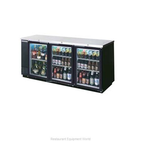 Beverage Air BB72GY-1-B-WINE Backbar Wine Storage Cabinet