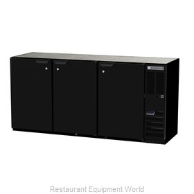 Beverage Air BB72HC-1-B Back Bar Cabinet, Refrigerated