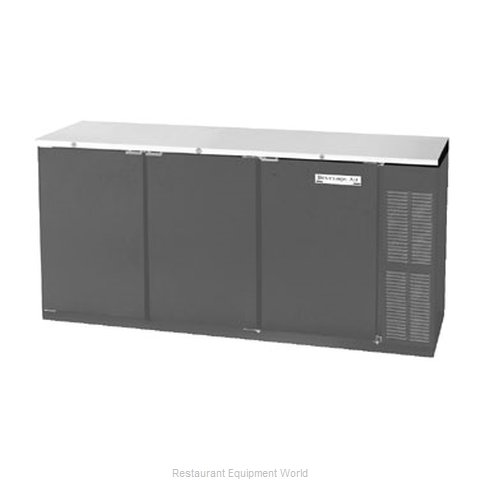Beverage Air BB72R-1-B Backbar Cabinet Refrigerated (Magnified)