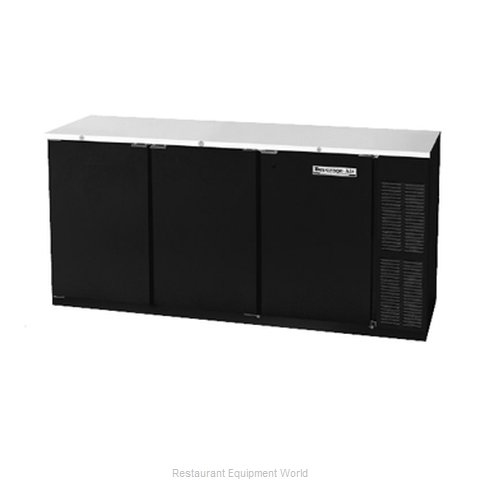 Beverage Air BB72YF-1-B Backbar Cabinet Refrigerated (Magnified)
