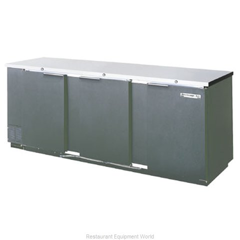 Beverage Air BB94-1-B-PT Backbar Cabinet Refrigerated