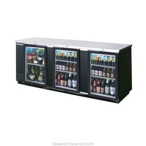 Beverage Air BB94G-1-B-WINE Backbar Wine Storage Cabinet
