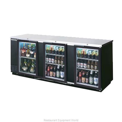 Beverage Air BB94GF-1-B-PT Backbar Cabinet Refrigerated (Magnified)