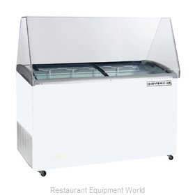 Beverage Air BDC-12 Display Case, Dipping Ice Cream