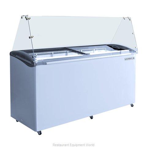 Beverage Air BDC-HC-12 Display Case, Dipping Ice Cream
