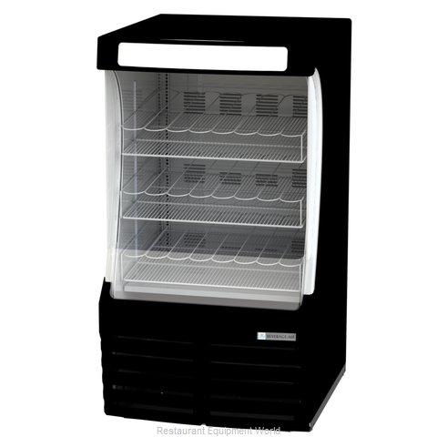Beverage Air BZ13-1-B Merchandiser, Open