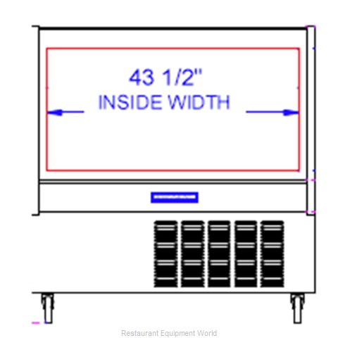 Beverage Air CDR4/1-W-20 Display Case Refrigerated Deli (Magnified)