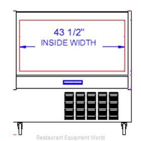 Beverage Air CDR4HC-1-BB-20 Display Case, Refrigerated Deli