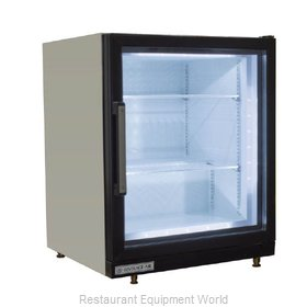 Beverage Air CF3HC-1-W Display Case, Freezer, Countertop