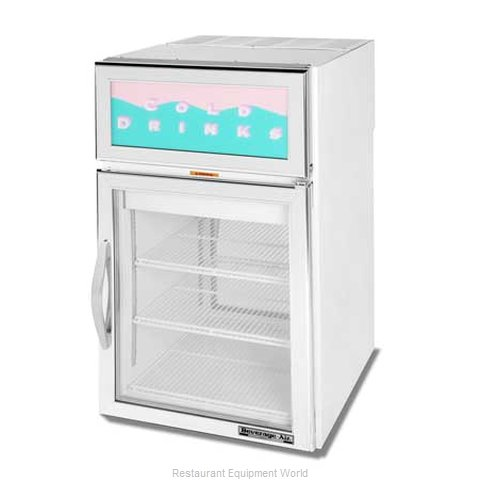 Beverage Air CRD5-1W-G Display Case Refrigerated Countertop