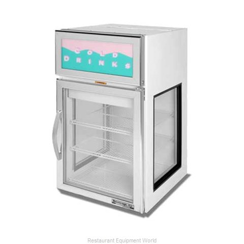 Beverage Air CRD5GE-1W-GS Display Case Refrigerated Countertop
