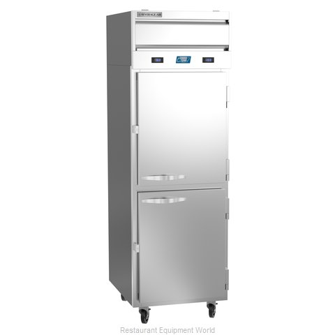 Beverage Air CT12-12HC-1HS Refrigerator Freezer, Convertible