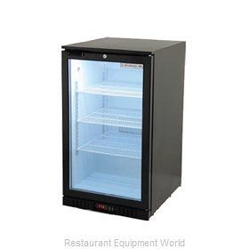 Beverage Air CT96HC-1-B-LED Display Case, Refrigerated, Countertop