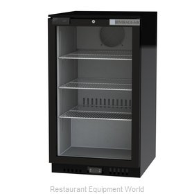 Beverage Air CT96HC-1-B Display Case, Refrigerated, Countertop