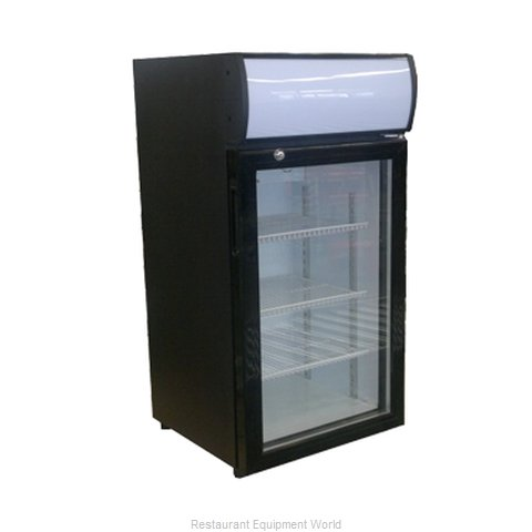 Beverage Air CTF3-1-B Display Case Freezer Countertop (Magnified)