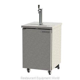 Beverage Air DD24HC-1-S-WINE Draft Wine Cooler