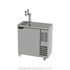 Beverage Air DD36SLM-1-B Draft Beer Cooler