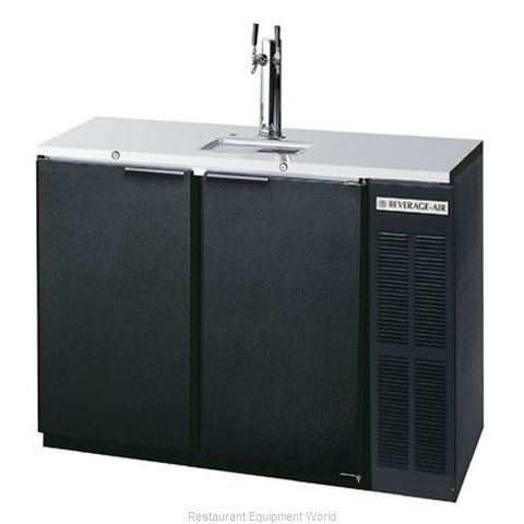 Beverage Air DD48Y-1-B Draft Beer Cooler