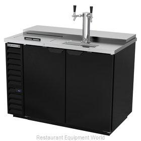 Beverage Air DD50HC-1-C-B Draft Beer Cooler