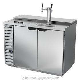 Beverage Air DD50HC-1-C-S Draft Beer Cooler