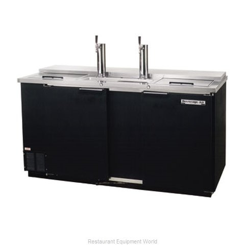 Beverage Air DD68C-1-B Draft Beer Cooler