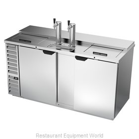 Beverage Air DD68HC-1-C-S Draft Beer Cooler