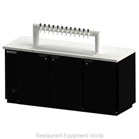 Beverage Air DD78-1-B-12T Draft Beer Cooler