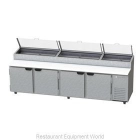 Beverage Air DP119-CL Refrigerated Counter, Pizza Prep Table
