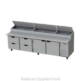 Beverage Air DP119 Pizza Prep Table Refrigerated