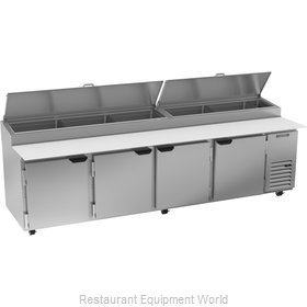 Beverage Air DP119HC Refrigerated Counter, Pizza Prep Table