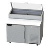 Beverage Air DP46-CL Refrigerated Counter, Pizza Prep Table