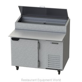 Beverage Air DP46 Refrigerated Counter, Pizza Prep Table